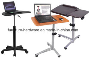 Furniture Hardware Parts Aluminum Chair Base for Mobile Laptop Desk/Table Stands pictures & photos