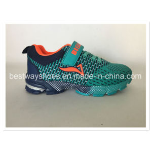 Tidewy Flyknit Mesh Fabric Children Shoes Kids Shoe pictures & photos