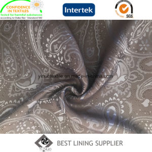 Poly Viscose Woven Jacquard Lining Fabric for Men′s Suit pictures & photos