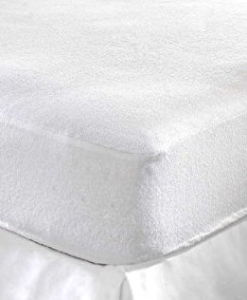 Hotel and Hospital Widely Used Mattress Shield with Towel Layer Bed Sheet pictures & photos