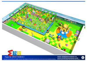 Professional Design Amusement Park with Inflatable