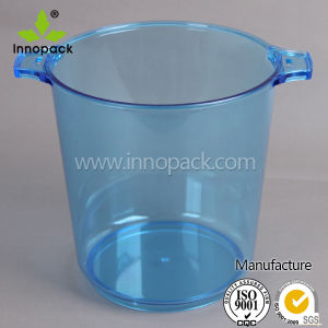 Round 5 Liter PS Clear Ice Bucket for Beer Cooler pictures & photos