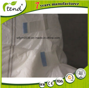 Cheap Disposable Comfort Adult Diaper with Design for Hospital pictures & photos