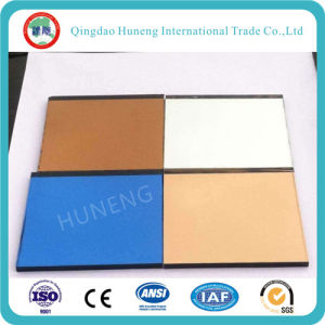 2-6mm Bronze Mirror Glass Colored Mirror for Decorative Mirror pictures & photos