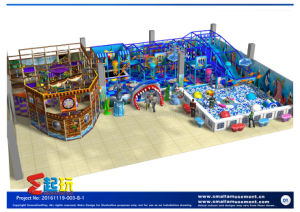 Undersea Themed Indoor Playground with Parite Ship pictures & photos