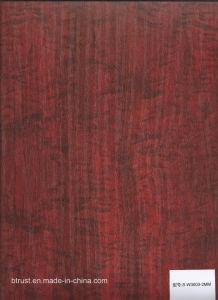 Wood Grain PVC Decorative Film/Foil for Cabinet/Door Vacuum Membrane Press Bgl185-188 pictures & photos
