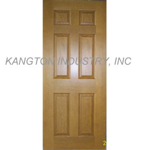 White Primer Coating HDF Moulded Door Skin (door skin) pictures & photos