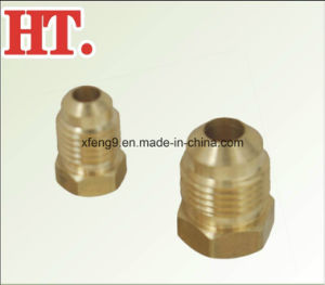 5/8inch Brass Flare Plug Fitting pictures & photos