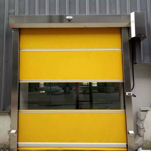 China High Performance PVC Rapid Roller Shutter Door Manufacture Supplier (HF-J317) pictures & photos