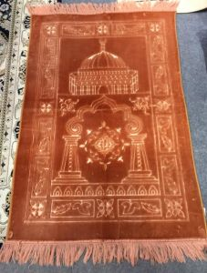 80*120cm New Design Raschel Prayer Rug Carpet pictures & photos