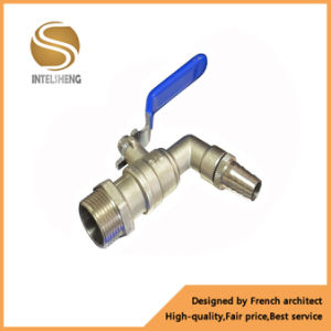 Brass Bibcock Water Ball Valve with Nozzles pictures & photos