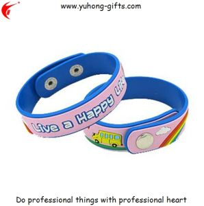 Soft PVC Wristband for Gifts (YH-PB002) pictures & photos