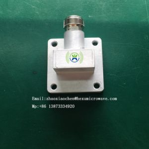 Wr75 Waveguide to N Type Adapter for Vsat Communication System pictures & photos