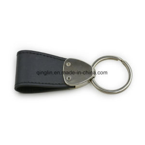 Customized Car Logo Coloring Leather Key Holder pictures & photos