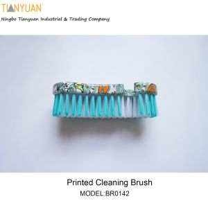 Printed Cleaning Brush, Printed Washing Brush pictures & photos