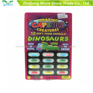 Magic Growing Dinasour Toys Animal Capsules Expanding Sponge Foam Capsule pictures & photos