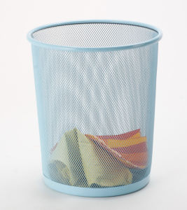 Office Accessories/ Metal Home Organization Waste Bin pictures & photos