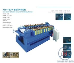 Metal Door Shutter Box Cover Making Roll Forming Machine pictures & photos