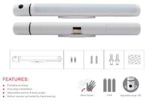 Smart Motion Sense Beside Lamp LED Portable Stick Night Light pictures & photos