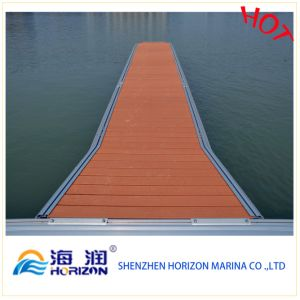 Hot Sale and Good Price Composite Decking Floor Solid WPC Decking pictures & photos