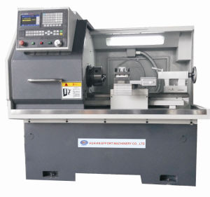 CNC Lathe with Flat Hardened Rail Ek6432X750 pictures & photos
