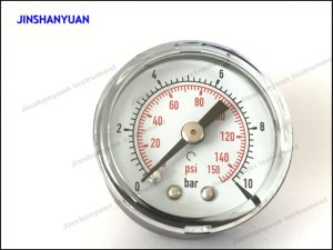 Gpg-002 Axial Mounted Black Plastic Dry Manometer/Pressure Gauge pictures & photos