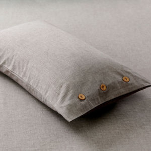 Factory Supply Cotton Brown Bedding Set for Hotel pictures & photos