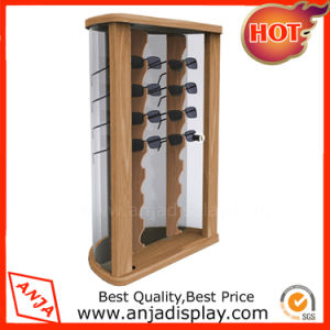 Wooden Sunglass Display Counter Eyewear Display Stand for Trade Show pictures & photos