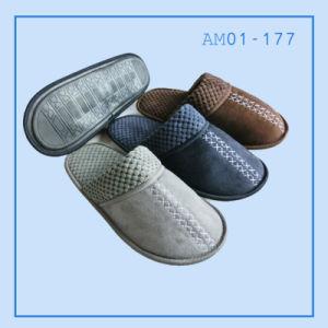 Men Indoor Slippers Shoes TPR in Winter pictures & photos