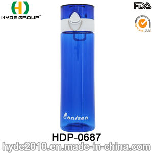 700ml Newly Customized BPA Free Plastic Water Bottle, BPA Free Tritan Drink Water Bottle (HDP-0687) pictures & photos