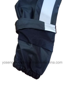 Adult′s Waterproof Rain Coat High Visibility Reflective Safety Protective Apparel Workwear Garments pictures & photos