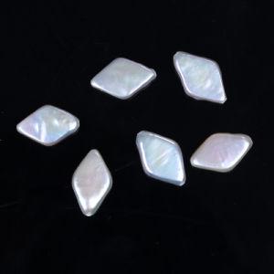 Rhombus Shape Reborn Keshi Freshwater Pearl pictures & photos