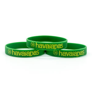 High Quality Promotional Rubber Wristband pictures & photos