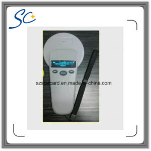 125kHz Handheld Fdx-B/Hdx RFID Animal Tag Scanner pictures & photos