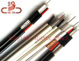 Rg59 Coaxial+2c Power Cable/Computer Cable/ Data Cable/ Communication Cable/ Connector/ Audio Cable pictures & photos