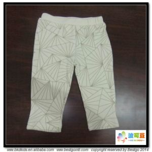 Plain Grey Baby Apparel Soft Handfeel Infant Leggings pictures & photos