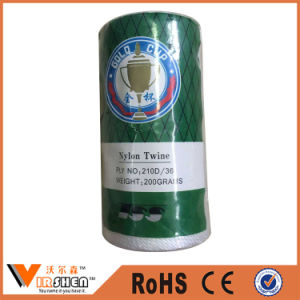 Customized Colorful Twisted Nylon Fishing Twine Line pictures & photos
