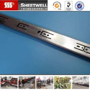 High Precision Cold Rolled Steel Drawer Slide Fabrication pictures & photos