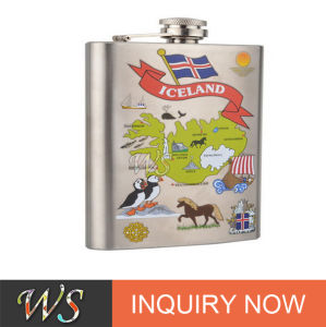 Ws-It15 Colorful fashion Stainless Steel Hip Flask pictures & photos