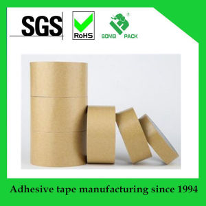 Brown Reinforced Gummed Kraft Paper Tape pictures & photos