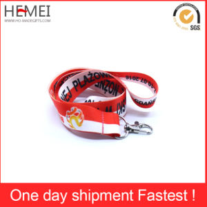 Professional Customized Logo Polyester Neck Lanyard pictures & photos