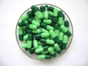 Size 00 Pharmaceutical Pill Empty Organic Capsules pictures & photos