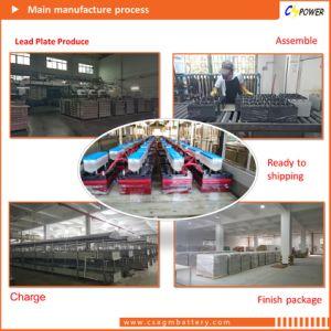 AGM Gel Battery 12V100ah SLA Battery for Solar Power CS12-100d pictures & photos