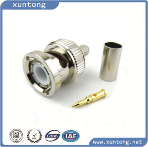 Waterproof CCTV BNC RF RG6 Connector with Good Price (connector factory) pictures & photos