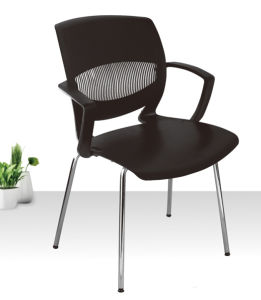Hot Sale Plastic Chair with Armrest for Dining Room pictures & photos