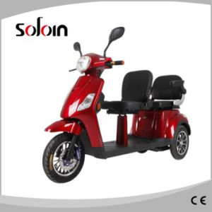Alderly People 2 PU Seat Mobility Balance Electric Tricycle (SZE500S-5) pictures & photos
