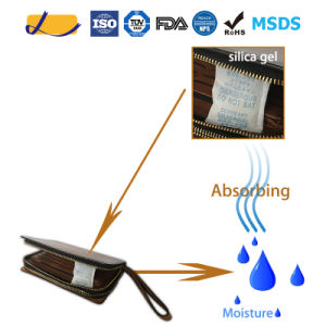 Moisture Absorbing Silica Gel Desiccant for Lether Wallet Protection
