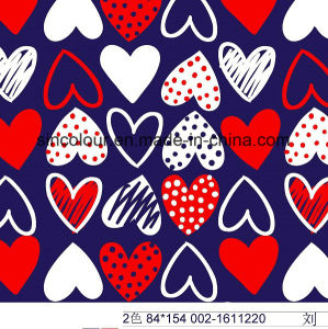Sweet Heart Printing 80%Nylon 20%Spandex Fabric for Swimwear pictures & photos