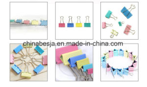 51mm (2 Inch) Colored Binder Clips (1301) pictures & photos