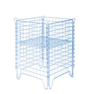 Stackable Folding Metal Steel Storage Wire Mesh Cage pictures & photos